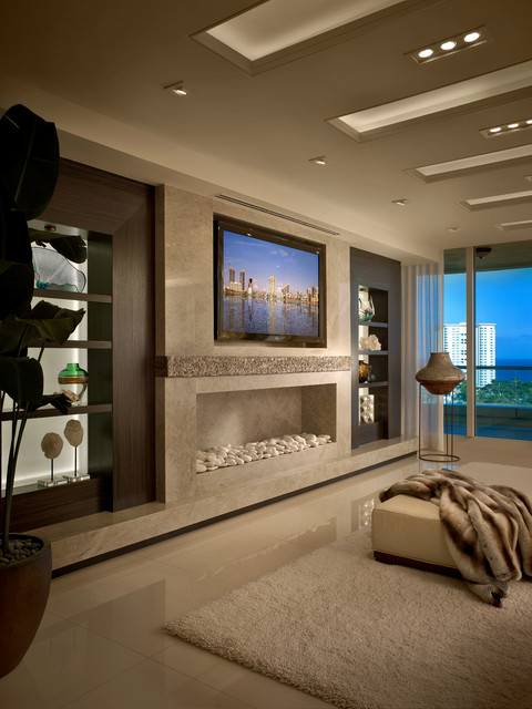 Contemporary Residence Boca Raton, Florida Contemporary Living Room Part 7