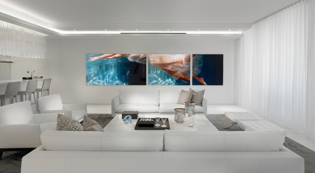 Contemporary Residence Boca Raton, Florida Contemporary Living Room Part 28