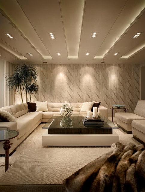 Amazing Contemporary Residence Boca Raton, Florida Contemporary Living Room Part 3