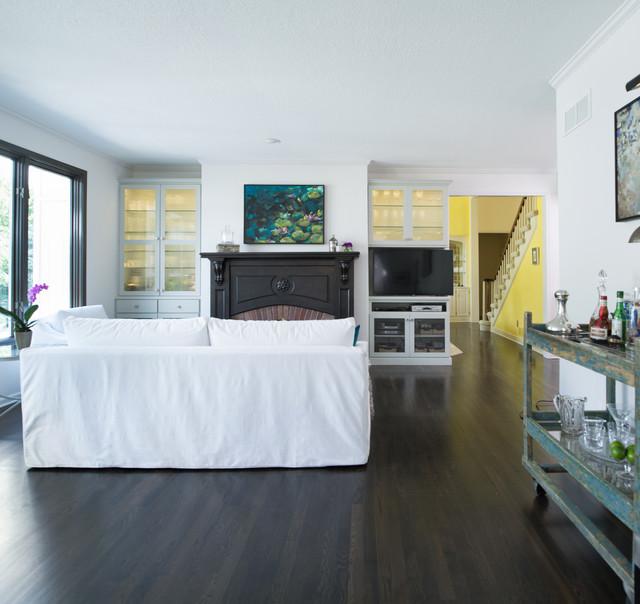 Amundsen Kitchen Hearth Room: Contemporary Rustic Kitchen & Hearth Room Remodel In