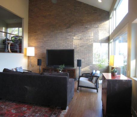 Contemporary Rustic Contemporary Living Room Santa Barbara By Lori De