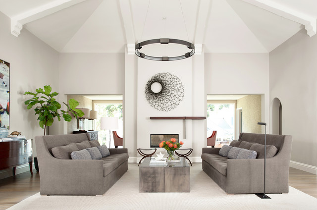 Contemporary Spanish Mediterranean Contemporary Living Room San Francisco By Niche Interiors