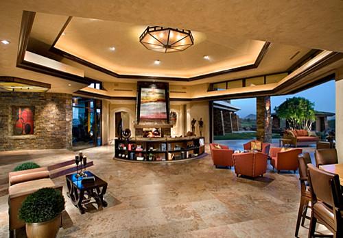 Contemporary contemporary-living-room