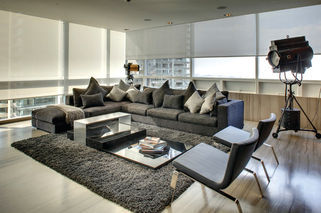 Control4 - Contemporary - Living Room - Salt Lake City - by Control4