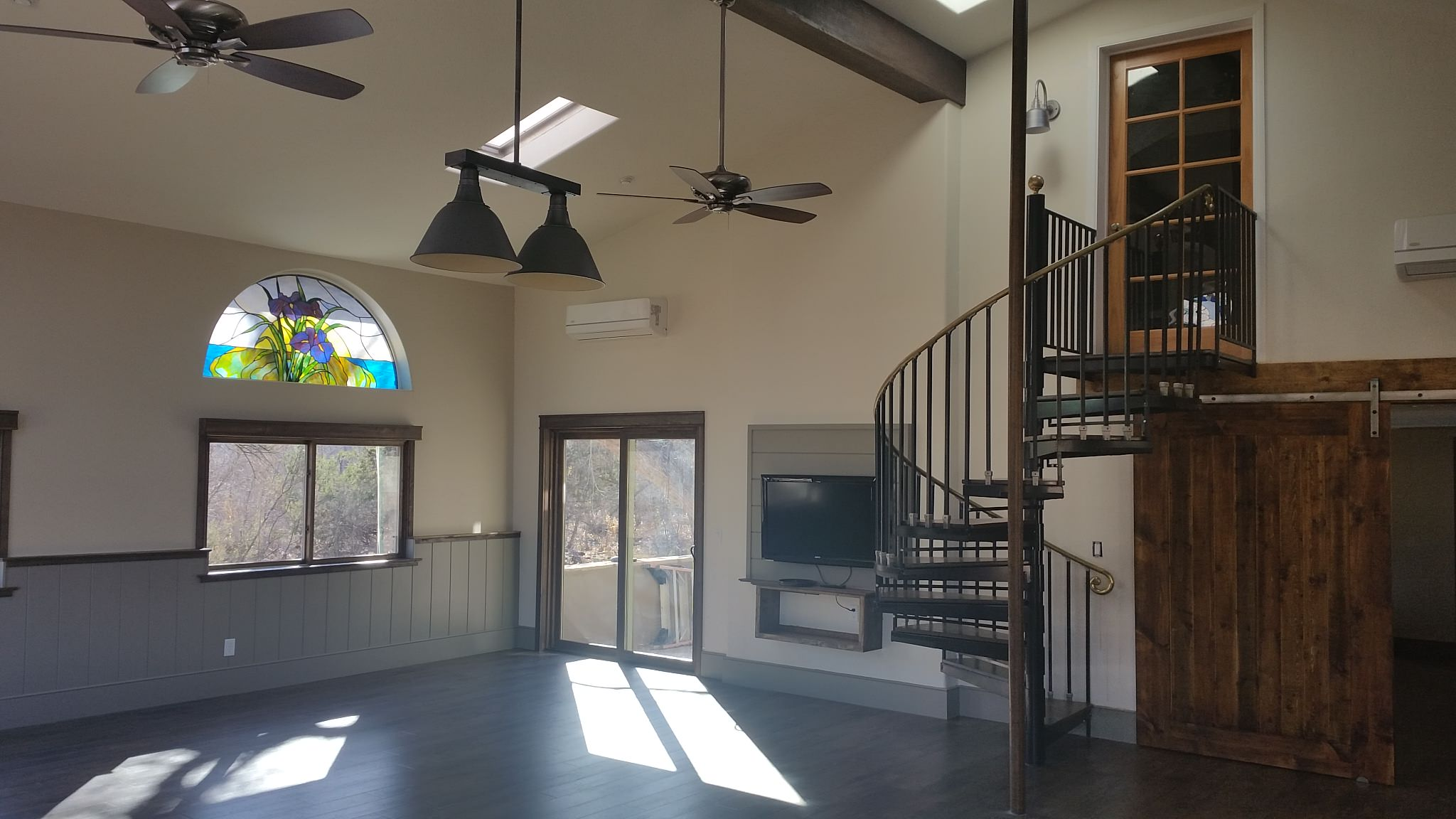Converted tractor barn - Page Springs AZ