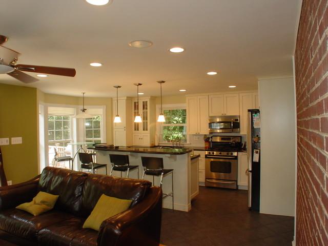 Cook Bros. of Arlington, Va. - Interiors/Remodeling contemporary-living-room