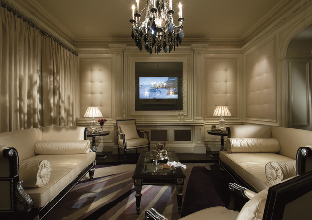 Cool Luxe Lounge Traditional Living Room Manchester By Clive Christian San Francisco