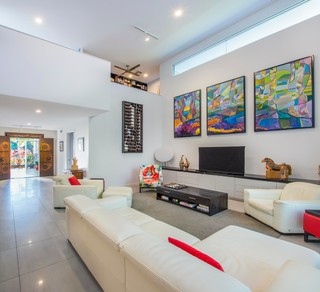 Coolum Beach Style Living Room Sunshine Coast By Civic Steel Homes