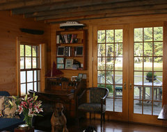 Copp Boat House traditional-living-room