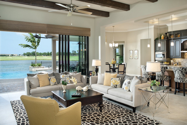Coquina 1177 Eclectic Living Room Tampa By Arthur