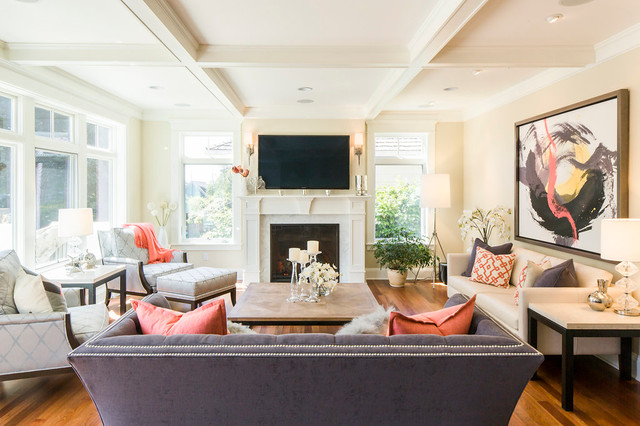 living room furniture ethan allen. Inspiration for a small transitional enclosed medium tone wood floor and  brown living room remodel Ethan Allen Living Room Ideas Photos Houzz