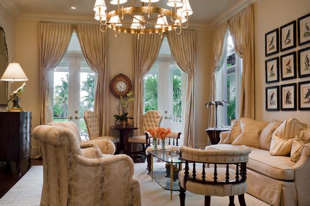 Coral Gables Florida Home Traditional Living Room Miami By Eva Quateman Interiors