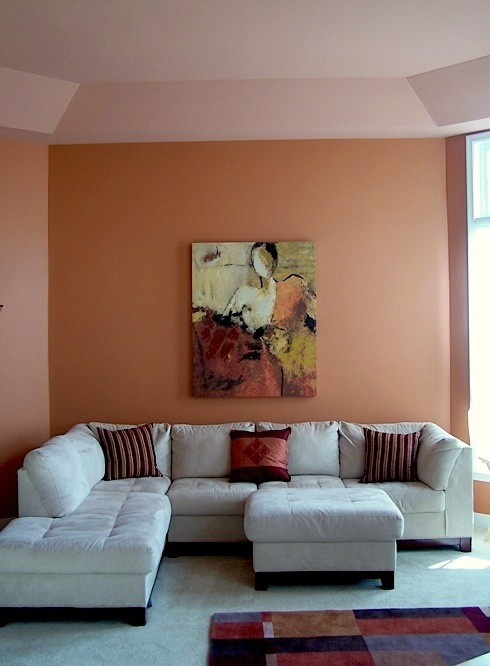 what is the wall paint color? it's a great pumpkin shade. thanks