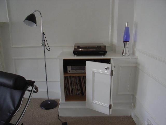 Corner Storage Cabinet Contemporary Living Room