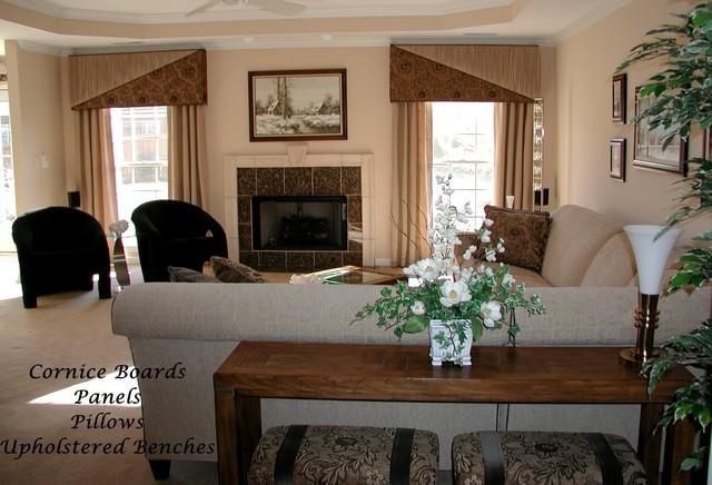 cornice boards livingroom - Cornice Board