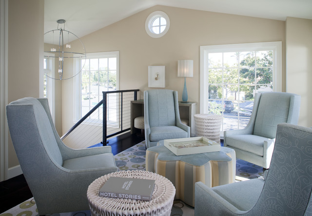 Leslie Kalish contemporary-living-room