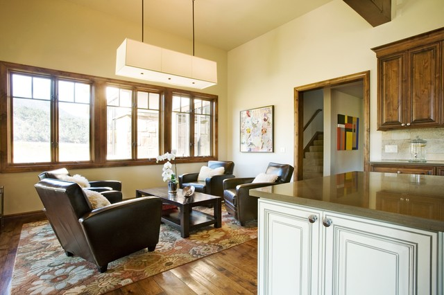 Coryell Ranch Traditional Living Room Denver By