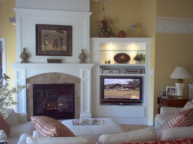 Cottage details make the difference eclectic living for Difference between living room and family room