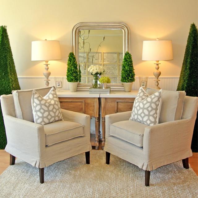 Houzz Farmhouse Living Room: Cottage Living Room