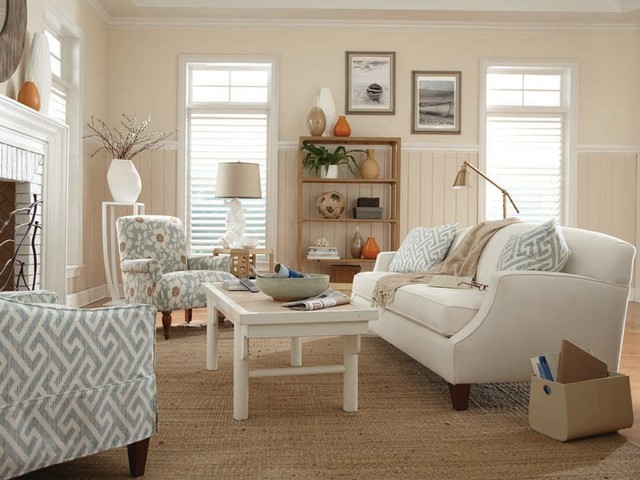 Cottage style furniture living room for Beach cottage style living room furniture