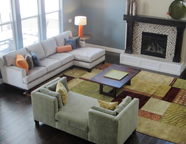 Cottonwood Heights Great Room contemporary-living-room