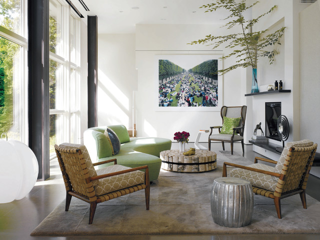 Genial Example Of A Minimalist Living Room Design In New York