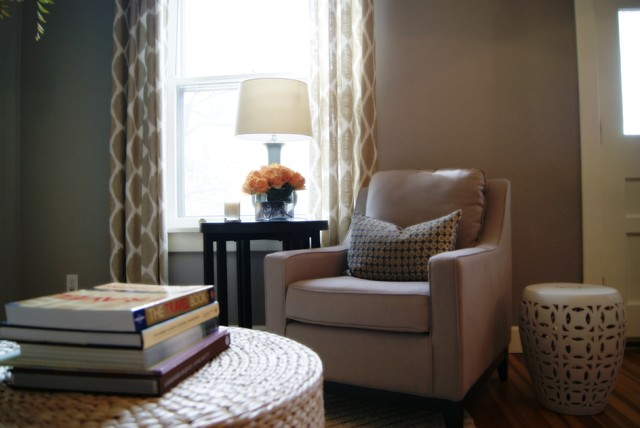 Country Club/Cheeseman Park traditional-living-room
