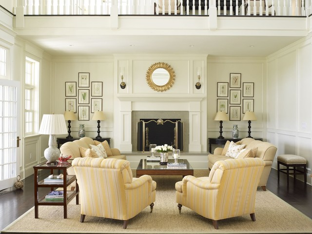 Country Houses traditional-living-room