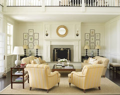 Country Houses traditional living room