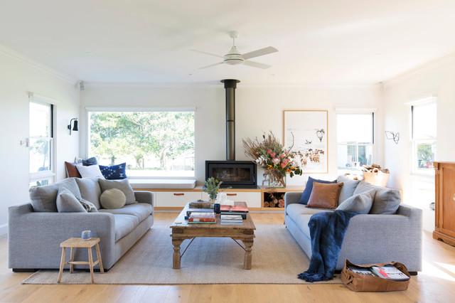 Country Living Room Lantlig Vardagsrum Wollongong