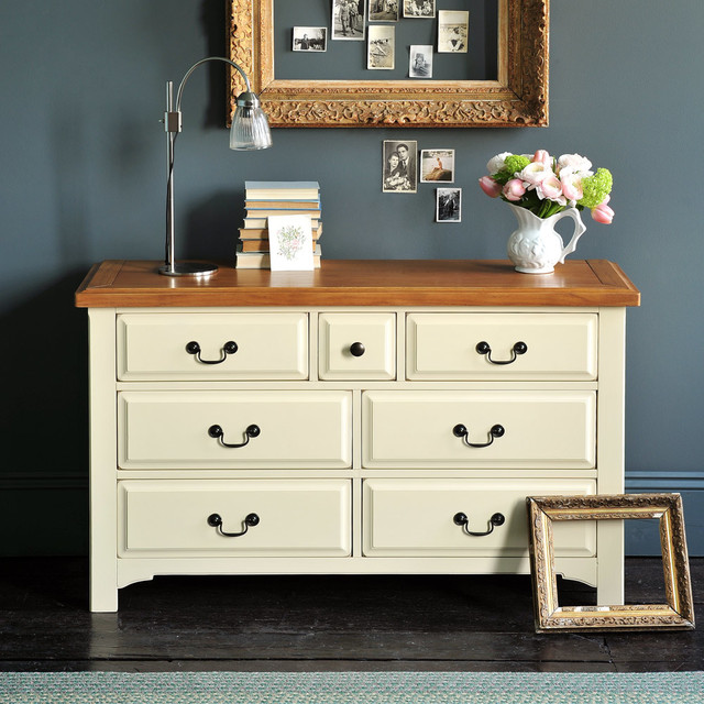 Westbury Painted Drawer Chest Country Living Room