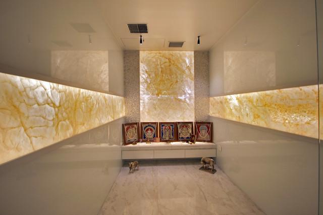 12 Striking Puja Room Wall Ceiling Designs