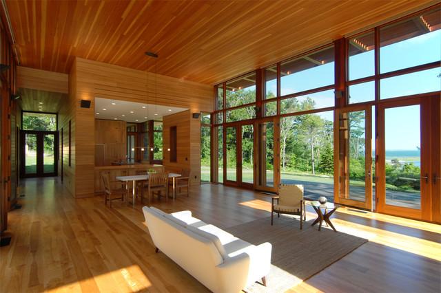 Cove House modern-living-room