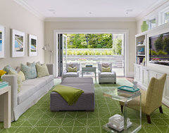 Cow Hollow Historic Home contemporary-living-room