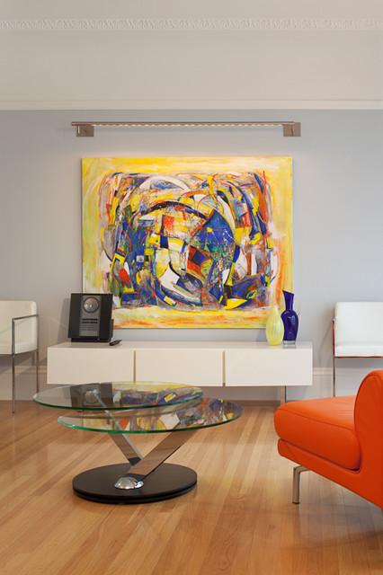 Cow Hollow contemporary-living-room