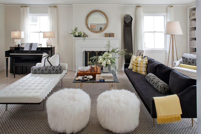 Cow Hollow Residence San Francisco Eclectic Living Room San Francisc