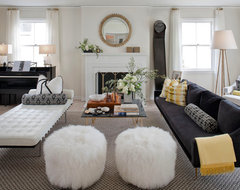 Cow Hollow Residence -- San Francisco eclectic-living-room
