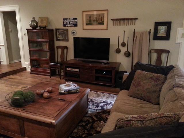 Cozy Antique Filled Living Room