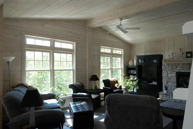 Craftsman Cottage craftsman-living-room