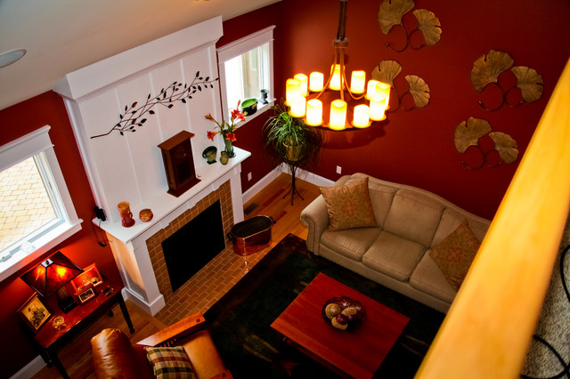 Craftsman Home Morgantown Chester County PA Craftsman Living Room O