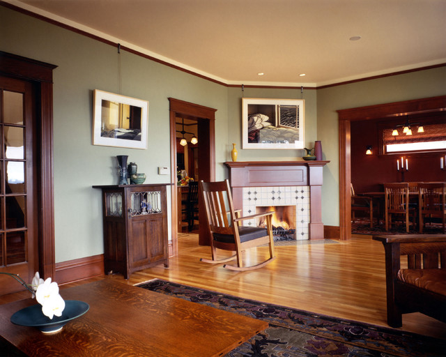 Madrona Residence 02 traditional living room