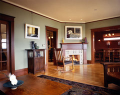 Craftsman Living Room craftsman-living-room