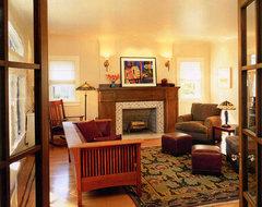 Craftsman Living Room craftsman-living-room
