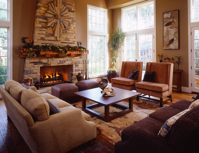 craftsman living room - craftsman - living room - los angeles -