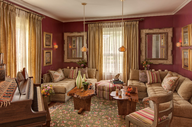 Craftsman Meets Middle East (Interior) - Traditional ...
