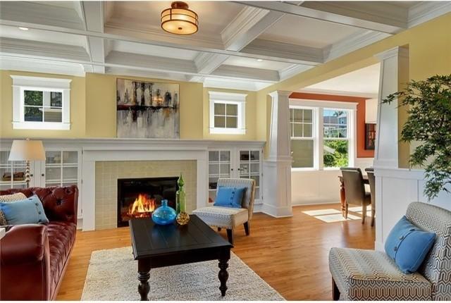 Craftsman remodel in mt baker - Cottage style homes interior ...