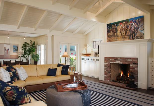 Craftsman/Rich Bokal Architect - Tropical - Living Room - san diego ...