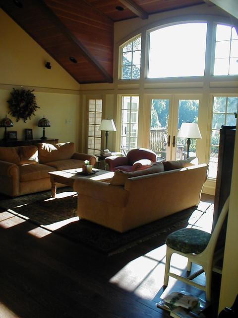 Craftsman Shingle craftsman-living-room