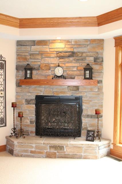 Craftsman Style Home craftsman-living-room