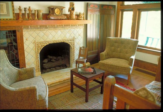 Craftsman Style craftsman-living-room